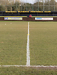 Rushall Olympic 1 Workingon 0, 17/02/2018. Dales Lane, Northern Premier League Premier Division. An early arrival. Photo by Paul Thompson. Rushall Olympic 1 Workingon 0, Northern Premier League Premier Division, 17th February 2018. Rushall is a former mining village now part of the northern suburbs of Walsall.