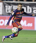FC Barcelona's Neymar Jr during La Liga match. March 3,2016. (ALTERPHOTOS/Acero)