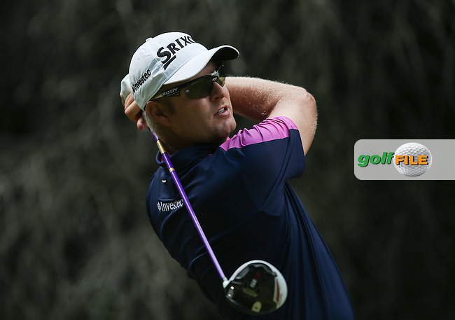 Jacques Blaauw (RSA) on the 13th tee during Round Three of the Tshwane Open 2015 at the Pretoria Country Club, Waterkloof, Pretoria, South Africa. Picture:  David Lloyd / www.golffile.ie. 14/03/2015