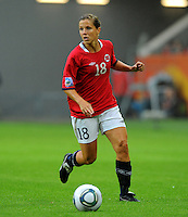 Guro Knutsen Mienna of team Norway during the FIFA Women's World Cup at the FIFA Stadium in Wolfsburg, Germany on July 3rd, 2011.
