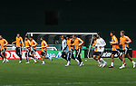 17 November 2007:  The Houston Dynamo practiced at RFK Stadium in Washington, DC one day before playing in MLS Cup 2007, Major League Soccer's championship game.