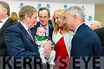 Taoiseach Enda Kenny TD attend the launch of the €16.5m sports academy at ITT North Campus on Monday. An Taoiseach Enda Kenny meeting young Kerry supporter, Sean Sayers and mom Eileen Sayers with  Dick Spring, Ogie Moran
