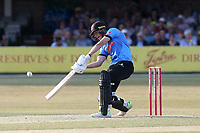 Michael Burgess hits 6 runs for Sussex during Essex Eagles vs Sussex Sharks, Vitality Blast T20 Cricket at The Cloudfm County Ground on 4th July 2018