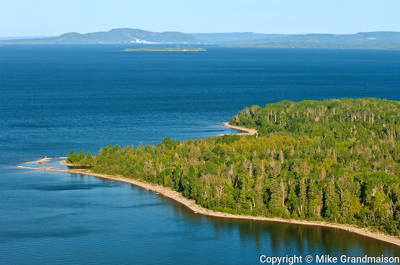 Lake Superior at Kama Bay (Kama Point)<br /> Near Nipigon<br /> Ontario<br /> Canada