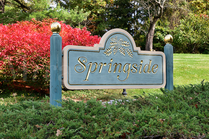 Springside estate of Matthew Vassar in Poughkeepsie, New York, USA