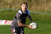 Picture by Alex Whitehead/SWpix.com - 30/10/2013 - Rugby League - Rugby League World Cup - England Training - Loughborough, England - Sam Tomkins.
