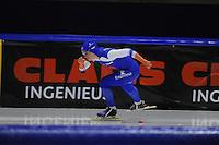 SCHAATSEN: HEERENVEEN: 29-11-2014, IJsstadion Thialf, KNSB trainingswedstrijd, Thijsje Oenema, ©foto Martin de Jong