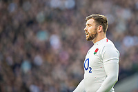 Twickenham, United Kingdom, Saturday, 3rd November 2018, RFU, Rugby, Stadium, England,  Full Back, Elliot DALY, during the Quilter, Autumn International, England vs South Africa, © Peter Spurrier