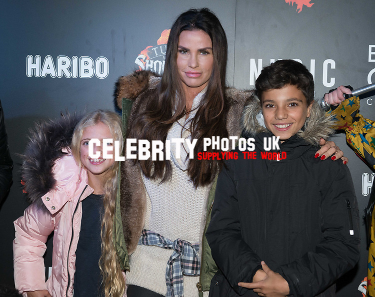 Katie Price at the Opening of Shocktober at  Tulleys Farm, Surrey, UK photo by Amanda Cunningham