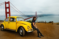 Bumblebee and Hailee Steinfeld as Charlie<br /> Bumblebee (2018) <br /> *Filmstill - Editorial Use Only*<br /> CAP/RFS<br /> Image supplied by Capital Pictures