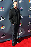 "HOLLYWOOD, LOS ANGELES, CA, USA - APRIL 03: Carson Daly at the NBC's ""The Voice"" Red Carpet Event held at The Sayers Club on April 3, 2014 in Hollywood, Los Angeles, California, United States. (Photo by Xavier Collin/Celebrity Monitor)"