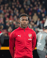 Arsenal's Danny Welbeck before the UEFA Europa League match between Arsenal and Sporting Clube de Portugal at the Emirates Stadium, London, England on 8 November 2018. Photo by Andrew Aleksiejczuk / PRiME Media Images.