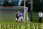 Danny Cahalane Templenoe bears down on the Coolmeen goal during the Munster Junior Championship final in Mallow on Sunday