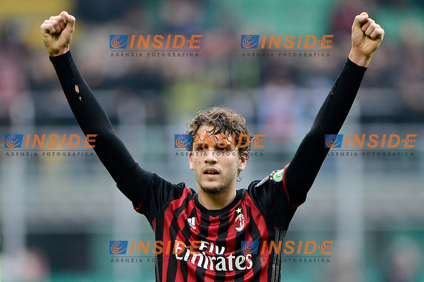Manuel Locatelli Milan<br /> Milano 4-12-2016 Stadio Giuseppe Meazza - Football Calcio Serie A Milan - Crotone Foto Giuseppe Celeste / Insidefoto