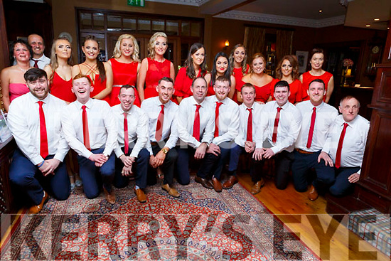 The performers of the Ballymac Strictly Love dancing in the Ballygarry House Hotel on Saturday.