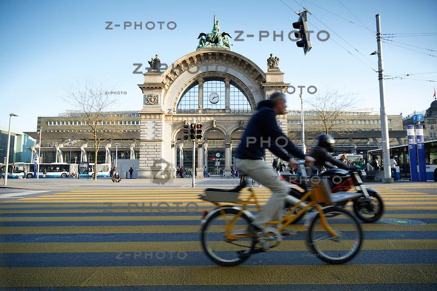 Stadtbilder Luzern / City View Lucerne am 15. April 2014 <br /> <br /> Copyright &copy; Zvonimir Pisonic