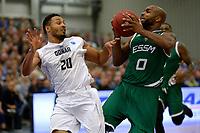 LEEK - Basketbal, Donar - Le Portel, Europe Cup, seizoen 2017-2018, 18-10-2017,  Donar speler Brandyn Curry met Le Portel speler Robert Golden