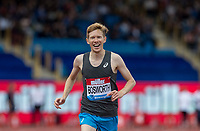 Tom BOSWORTH of GBR wins the Walk vs Run race in a time of 3.28.28 during the Muller Grand Prix Birmingham Athletics at Alexandra Stadium, Birmingham, England on 20 August 2017. Photo by Andy Rowland.