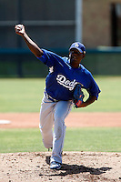 Mario Alvarez  -  Los Angeles Dodgers - 2009 extended spring training.Photo by:  Bill Mitchell/Four Seam Images