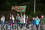 Supporters welcome home the St Michaels Foilmore U14's side who won the Division 13 Cup Final Beating Alymer Gaels 3-07 to 1-06 at the John West Féile Championships at the weekend, pictured here on Sunday night at Gleesk.