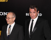 "NEW YORK, NY - FEBRUARY 04: Bob Balaban, Jean Dujardin at the New York Premiere Of Columbia Pictures' ""The Monuments Men"" held at Ziegfeld Theater on February 4, 2014 in New York City, New York. (Photo by Jeffery Duran/Celebrity Monitor)"