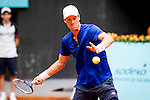 Caja Magica. Madrid. Spain. 07.05.2014. Mutua Madrid Open, Match beetwen Thomas Berdych  vs Kevin Anderson