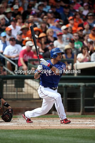Shin-Soo Choo - Texas Rangers 2016 spring training (Bill Mitchell)