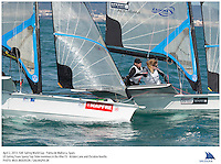 Palma de Mallorca, Spain, 20130402: 2013 SOFIA TROPHY - more than 800 sailors from 53 countries participate in the 44th edition of the Princesa Sofia MAPFRE ISAF Sailing World Cup event. 11 different Classes sail on five race courses across the bay.. .Photo: Mick Anderson/SAILINGPIX