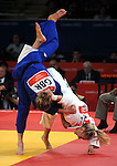 Olympic Games 2012; Judo - ExCel North Arena 2; women's 57kg. Sarah Clark (GBR) vs. Automne Pavia (FRA).