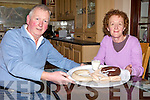 FRUSTRATION: John Paul and Kathleen O'Connor from Killorglin who say they cannot establish their homemade sausage and pudding business because of red tape and bureaucracy.