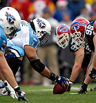 24 December 2006: Tennessee Titans center Kevin Mawae (68) holds the ball prior to a snap against the Buffalo Bills at Ralph Wilson Stadium in Orchard Park, New York. The Titans edged out the Bills 30-29.&amp;#xA; &amp;#xA;Mandatory Photo Credit: Ed Wolfstein Photo<br />