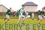 STOCK: Michael Griffin of Na Gaeil in action at the Muster Junior B Football Final last Sunday afternoon in Knockaderry.