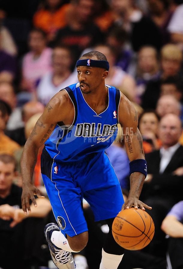 Mar. 27, 2011; Phoenix, AZ, USA; Dallas Mavericks guard (31) Jason Terry against the Phoenix Suns at the US Airways Center. The Maverick defeated the Suns 91-83. Mandatory Credit: Mark J. Rebilas-