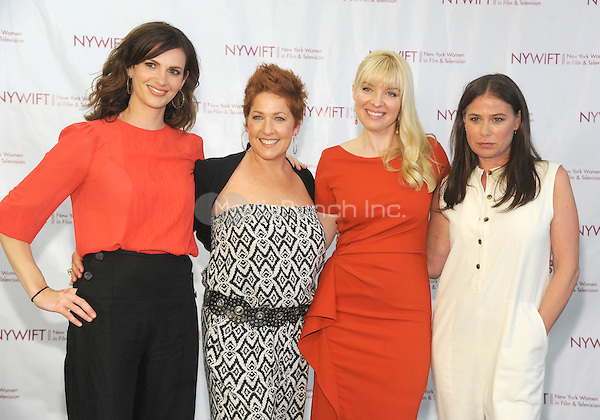 NEW YORK, NY - JUNE 13:  Sheri Kornhaber, Diana Sikes, Caroline Duncan and Maura Tierney attends the New York Women in Film and Television Designing Women Awards on June 13, 2016 at CUNY Graduate Center in New York City. .Phto Credit: John Palmer/ Media Punch