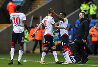 Bolton Wanderers' Lloyd Dyer replaces team mate Will Buckley <br /> <br /> Photographer Andrew Kearns/CameraSport<br /> <br /> The EFL Sky Bet Championship - Bolton Wanderers v Millwall - Saturday 9th March 2019 - University of Bolton Stadium - Bolton <br /> <br /> World Copyright © 2019 CameraSport. All rights reserved. 43 Linden Ave. Countesthorpe. Leicester. England. LE8 5PG - Tel: +44 (0) 116 277 4147 - admin@camerasport.com - www.camerasport.com