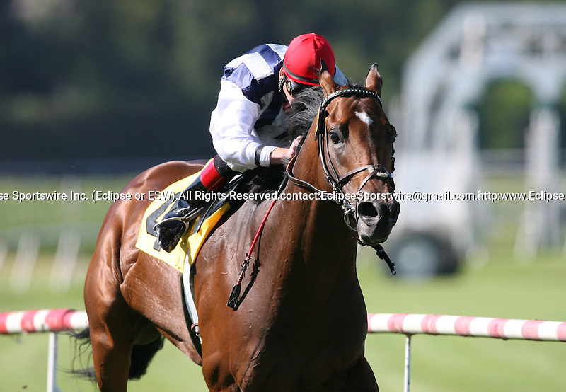 04 July 2009: Monterey Jazz and Tyler Baze win the American Handicap (GII) at Hollywood Park in Inglewood, CA