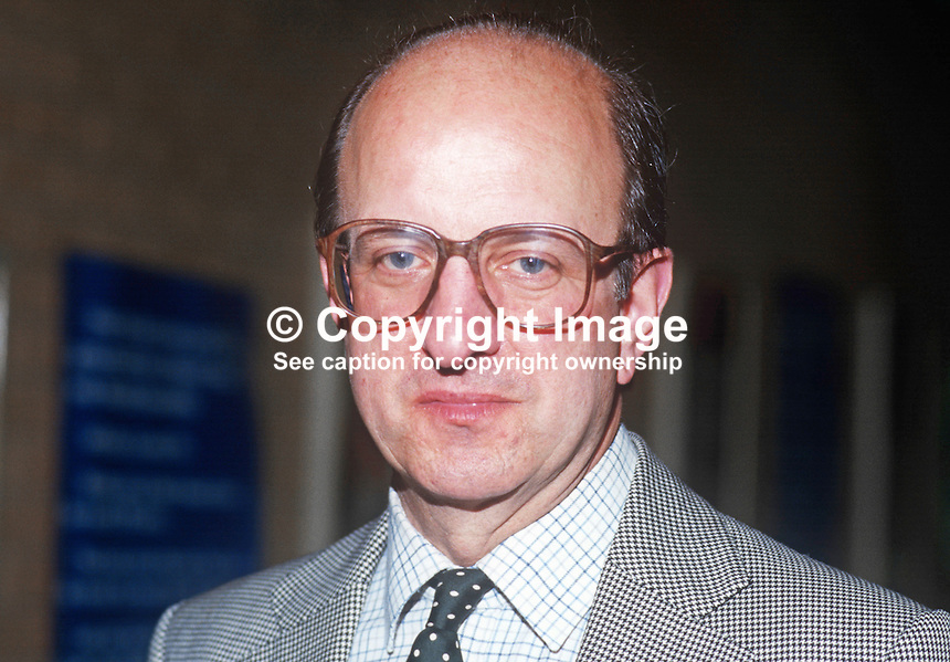 Michael Neubert, MP, Conservative Party, Romford, UK, September, 1986, 19861004MN<br /> <br /> Copyright Image from Victor Patterson, 54 Dorchester Park, Belfast, UK, BT9 6RJ<br /> <br /> t1: +44 28 9066 1296 (from Rep of Ireland 048 9066 1296)<br /> t2: +44 28 9002 2446 (from Rep of Ireland 048 9002 2446)<br /> m: +44 7802 353836<br /> <br /> e1: victorpatterson@me.com<br /> e2: victorpatterson@gmail.com<br /> <br /> The use of my copyright images is subject to my Terms &amp; Conditions.<br /> <br /> It is IMPORTANT that you familiarise yourself with them. They are available on my website at www.victorpatterson.com.<br /> <br /> None of my copyright images may be used on a website unless they are visibly watermarked, i.e. &copy; Victor Patterson within the body of the visible image. Metadata denoting my copyright must NOT be deleted. <br /> <br /> Web use is extra at currently recommended NUJ rates.