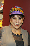 "Days of Our Lives' Louise Sorel tries on Hats for Health on September 14, 2010 at the New York Marriott Marquis as Daytime's TV and Broadway stars get involved in helping launch Jane Elissa's ""Hats For Health"" to promote awareness and to raise money for Leukemia/Lymphoma cancer research and patient aid. The Hats For Health will be available through Jane Elissa at 917-325-1085 and through the new website ""Hats For Health"". (Photo by Sue Coflin/Max Photos)"