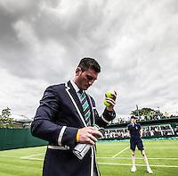 Ambience<br /> <br /> Tennis - The Championships Wimbledon  - Grand Slam -  All England Lawn Tennis Club  2013 -  Wimbledon - London - United Kingdom - Monday 24th June  2013. <br /> &copy; AMN Images, 8 Cedar Court, Somerset Road, London, SW19 5HU<br /> Tel - +44 7843383012<br /> mfrey@advantagemedianet.com<br /> www.amnimages.photoshelter.com<br /> www.advantagemedianet.com<br /> www.tennishead.net