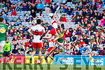 Fiáchra Clifford Kerry in action against  Derry in the All-Ireland Minor Footballl Final in Croke Park on Sunday.