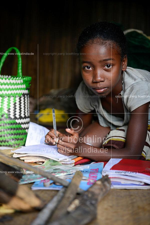 MADAGASCAR / MADAGASKAR Mananjary, Vohilava, Internat fuer Kinder aus Doerfern die in Vohilava zur Schule gehen, gefoerdert von SVD