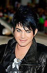 """HOLLYWOOD, CA. - April 14: American Idol contestant Adam Lambert arrives at the premiere of Warner Bros. """"17 Again"""" held at Grauman's Chinese Theatre on April 14, 2009 in Hollywood, California."""