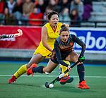 UTRECHT - Marijn Veen (Ned)   tijdens  de Pro League hockeywedstrijd wedstrijd , Nederland-China (6-0) .  COPYRIGHT  KOEN SUYK
