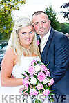 Shannon Lodder, Knocklyne Valley Killorglin daughter of Allen and Geraldine, and Michael buckley, Tralee son of Mike and Katie, who were married in St James church Killorglin on Saturday, Fr Michael Fleming officiated at the ceremony, best man was John Cahill, groomsmen were Jonathan Lodder, Ben Courtney, Brian O'Sullivan, Joseph Buckley, bridesmaids were Tammy McCloskey, Claire, Karlynn, Crystal Lodder and Tara O'Sullivan, flowergirls were Brooke, Nevaeh and Brianna Buckley, Amelia Courtney and Kasey Buckley, page boys were Morgam Lodder, Leah Buckley and Nathan Buckley the reception was held in the Gleneagle Hotel and the couple will reside in Killorglin