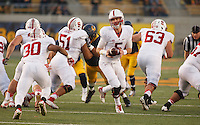 Berkeley- November 22, 2014: Evan Crower during the Stanford vs Cal at Memorial Stadium in Berkeley Saturday afternoon<br /> <br /> The Cardinal defeated the Bears 38 - 17