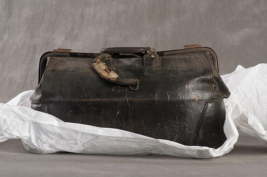 Willard Suitcases Project<br /> Nora M<br /> &copy;2013 Jon Crispin