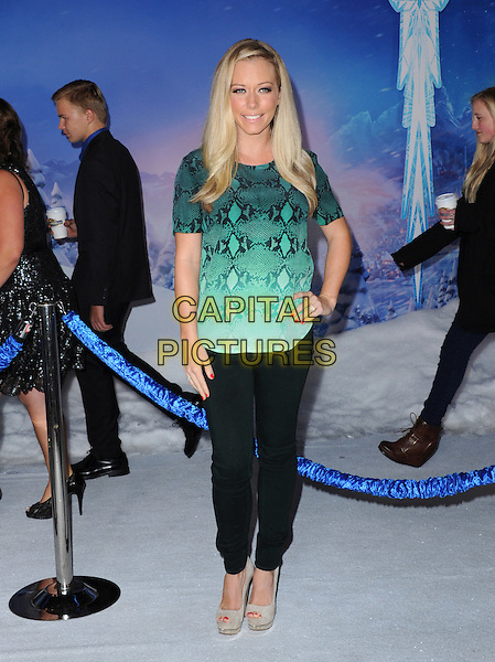 Hollywood, CA - NOVEMBER 19: Kendra Wilkinson Baskett arrives at The Disney FROZEN Premiere held at The El Capitan Theatre in Hollywood, California on November 19,2012                                                                               <br /> CAP/DVS<br /> &copy;DVS/Capital Pictures
