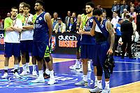 GRONINGEN - Basketbal, Donar - ZZ Leiden, Supersup, seizoen 2018-2019, 06-10-2018,  Leiden speler Maurice Watson Jr baal na het verlies