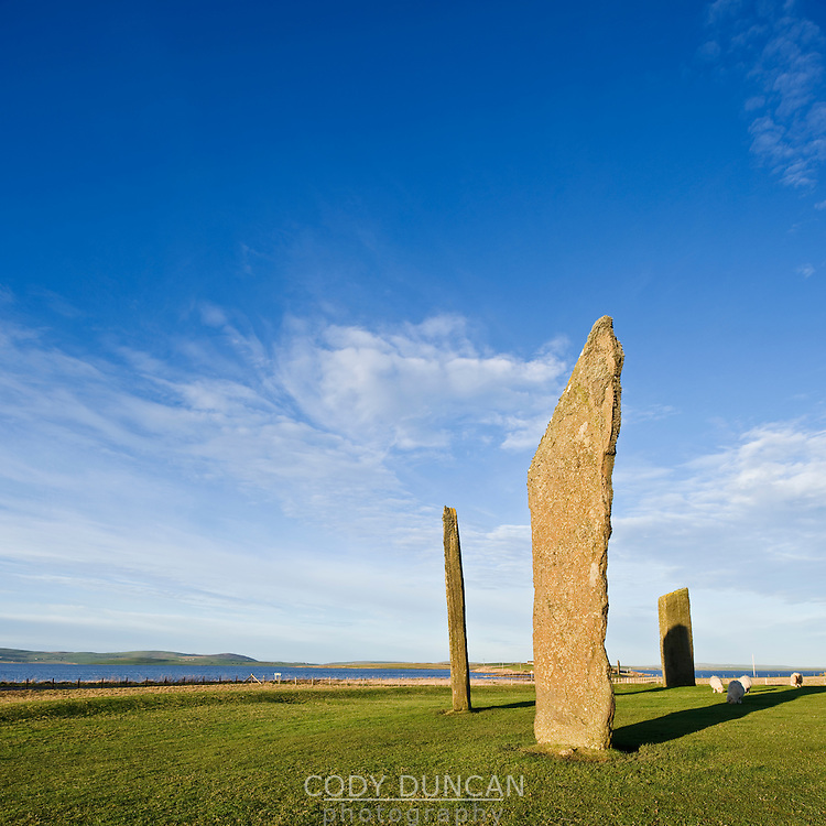 Standing Stones of Stenness, Orkney, Scotland
