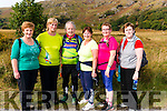 l-r Sheila Kingston, Agnes Gilligan, Dan Mc Carthy, Mary Gleeson, Margaret Mc Carthy and Anne O'Sullivan from Killarney pictured at the 14th Annual MS Old Kenmare Road Walk last Sunday morning.